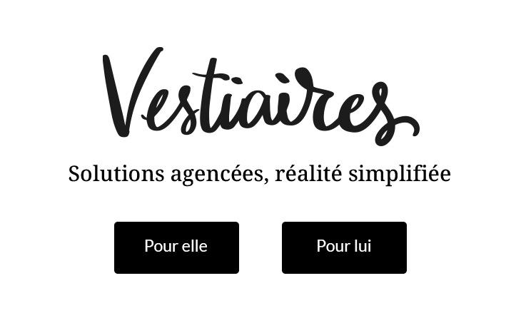 Vestiaires  Solutions agencées, réalité simplifiée