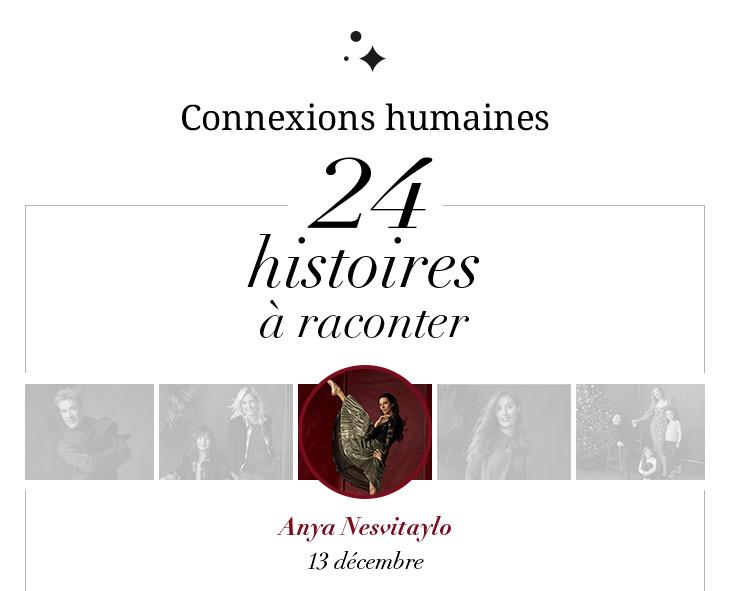 Connexions humaines 24 histoires à raconter  Anya Nesvitaylo 13 décembre